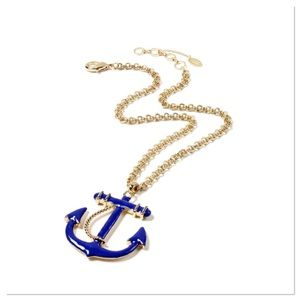 Jewelry - 🌸Coming Soon🌸 Blue Anchor Pendant Necklace